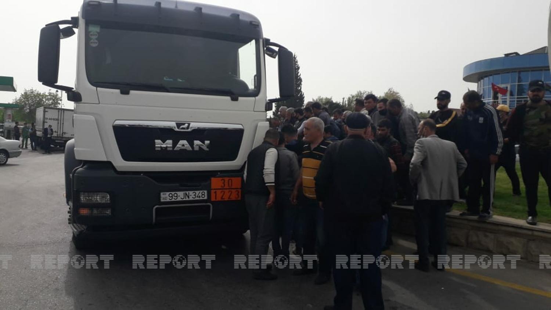 """""""Azpetrol""""un sürücüsü piyadanın ölümünə səbəb oldu - FOTO"""