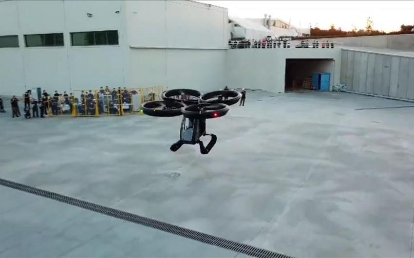 Turkey tests first flying car