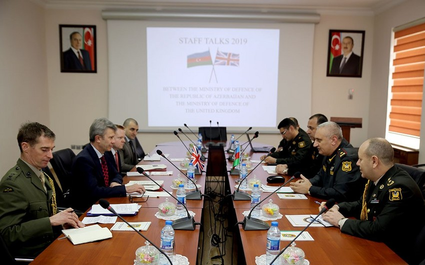 Azerbaijan and UK sign plan of military cooperation