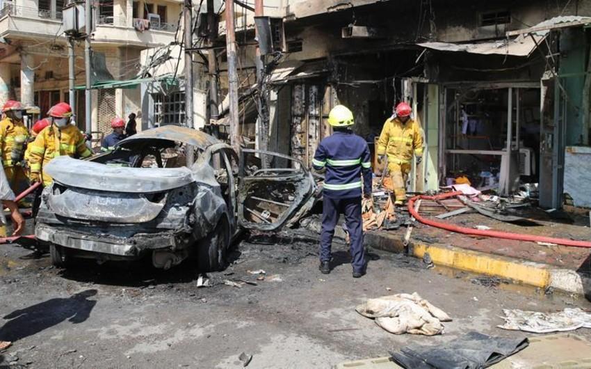 İraqda terror aktları törədilib, ölən və yaralananlar var