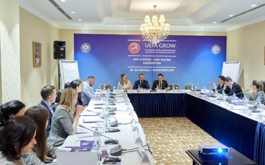 AFFA rəsmiləri Nur-Sultandakı UEFA GROW layihəsinin növbəti seminarında iştirak ediblər
