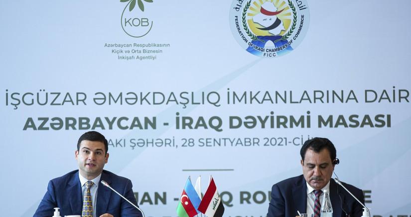 Azerbaijan, Iraq ink two documents