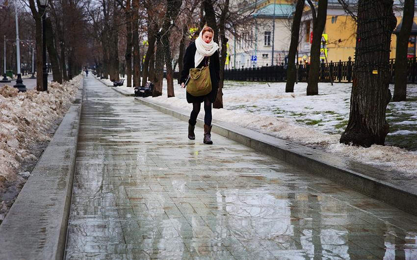 Moskvada sutka ərzində ikinci temperatur rekordu müəyyən edilib