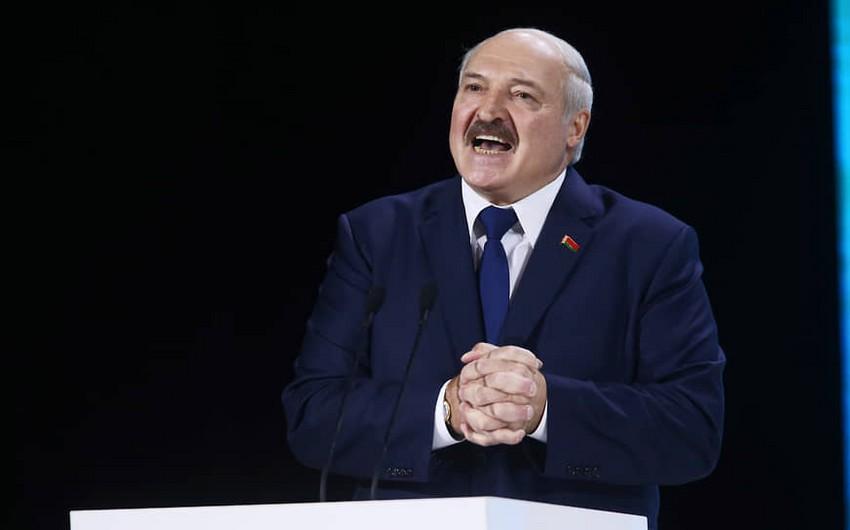 Lukaşenkoya qadağa qoyuldu -