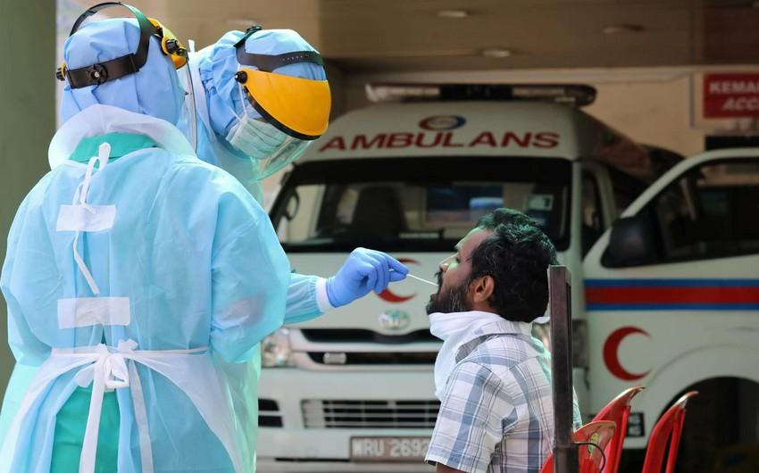 Malayziyada koronavirusa yoluxanların sayı 6 500-ü ötdü