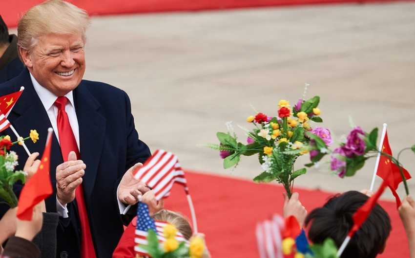 Çin və ABŞ Trampın səfəri zamanı 280 mlrd. dollarlıq saziş imzalaya bilər