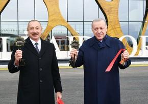 Qarabağın hava qapısı dünyaya açıldı - FOTOREPORTAJ