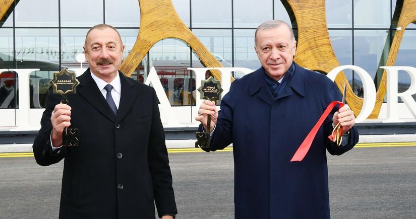 Turkish minister congrats Azerbaijani people on opening of Fuzuli Airport