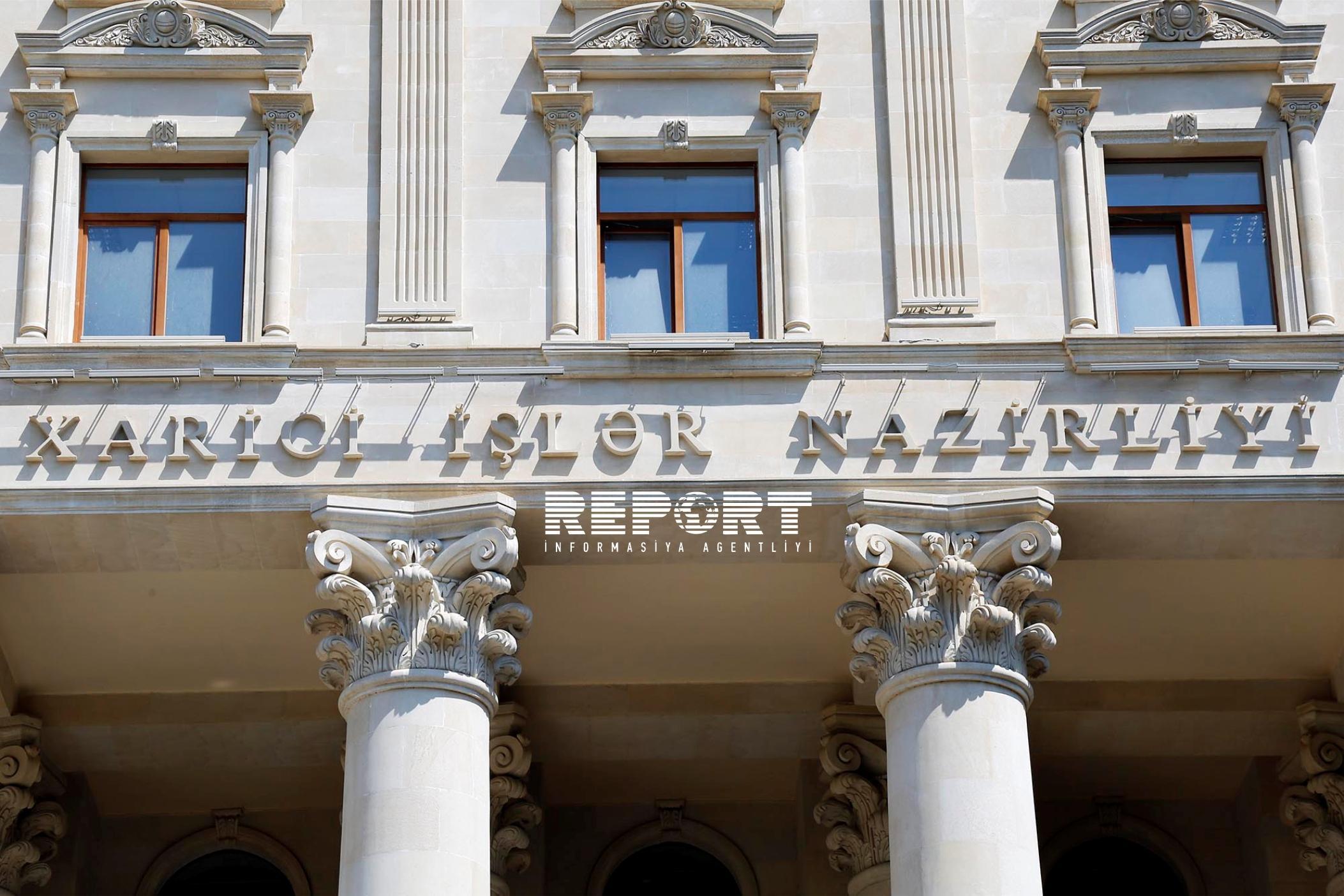 Azərbaycan XİN Danimarka paytaxtında baş verən terror aktını pisləyib