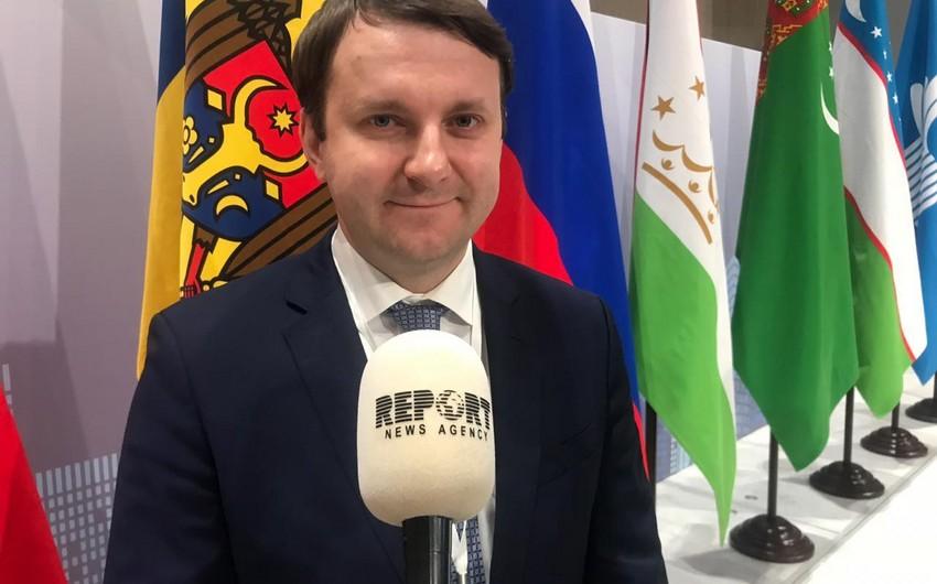 Maksim Oreşkin: Azərbaycanda bir sıra yeni istehsal sahələri açmağı planlaşdırırıq