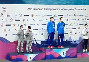 Три медали от азербайджанских гимнастов на ЧЕ