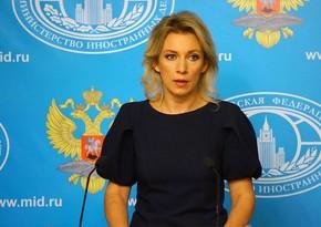 Захарова: Россия поддерживает взаимодействия ООН с Баку и Ереваном