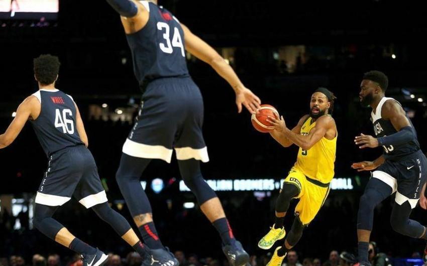 ABŞ-ın basketbol millisi son 13 ildə ilk dəfə uduzub