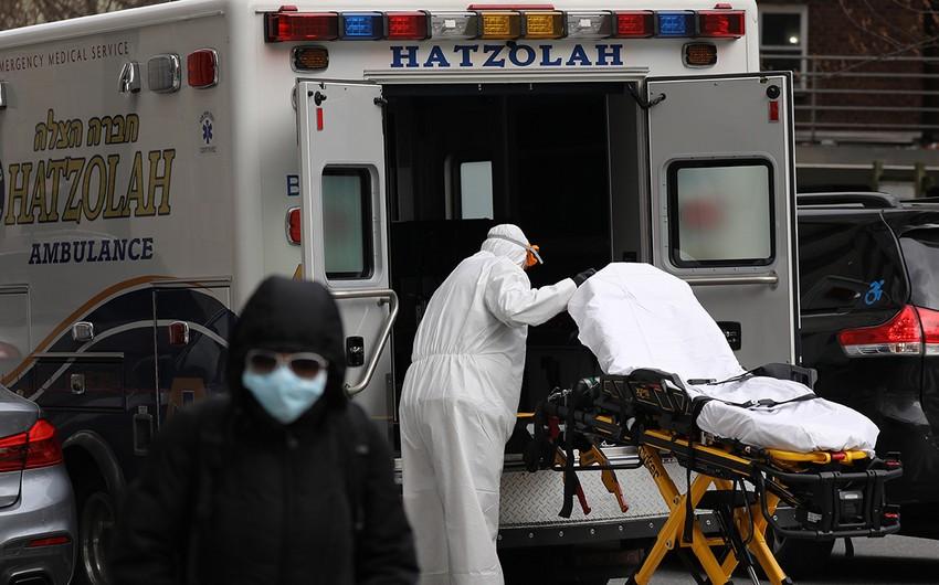 ABŞ-da COVID-19-dan gündəlik ölüm sayında rekord qeydə alındı