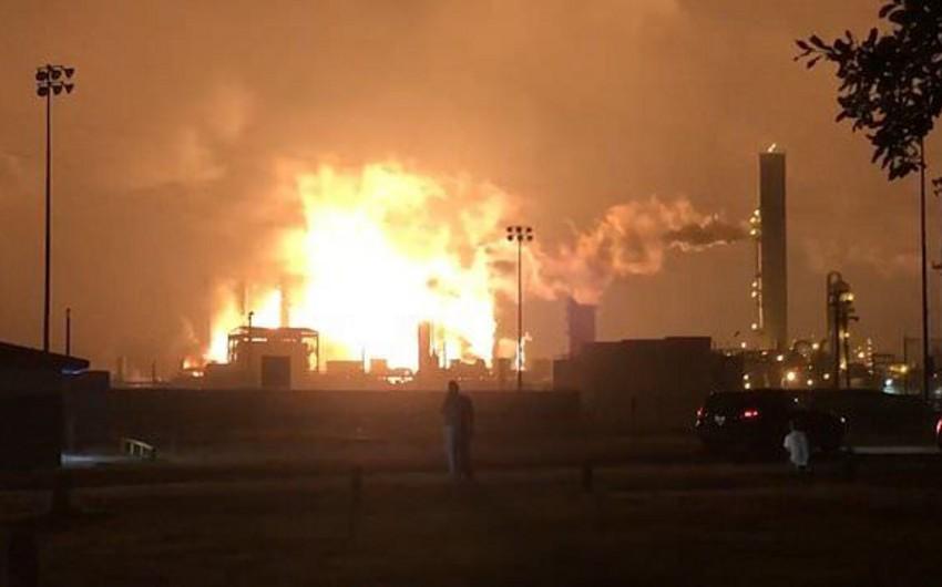 ABŞ-da neft-kimya zavodunda partlayış olub