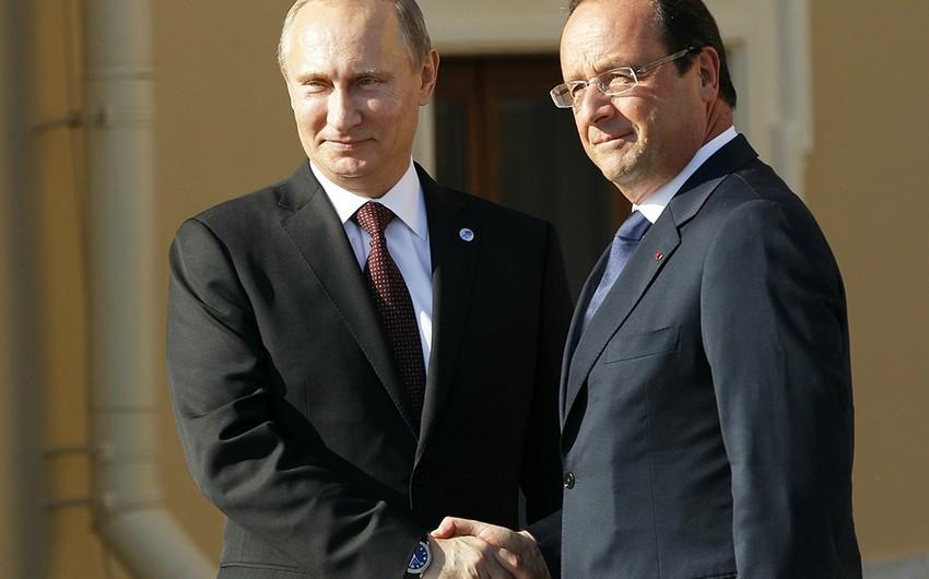 Fransa XİN Olland və Putinin görüşü üçün şərtləri açıqlayıb
