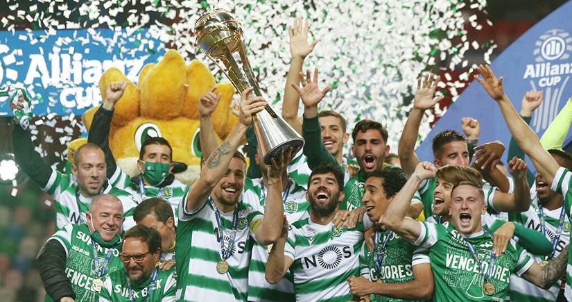 Спортинг в третий раз в истории выиграл Кубок португальской лиги
