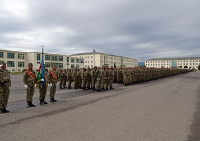 Military Oath taking ceremony held in Azerbaijan Army
