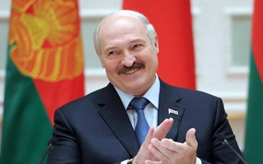 Belarus prezidentinin Azərbaycana rəsmi səfəri davam edir