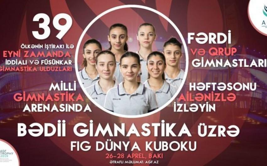 Azərbaycan gimnastı Bakıdakı Dünya Kubokunda finala vəsiqə qazanıb