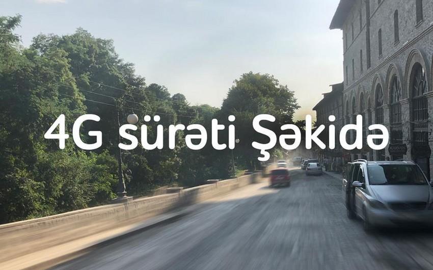"""""""Nar"""" Şəkidə 4G şəbəkəsini qurub"""