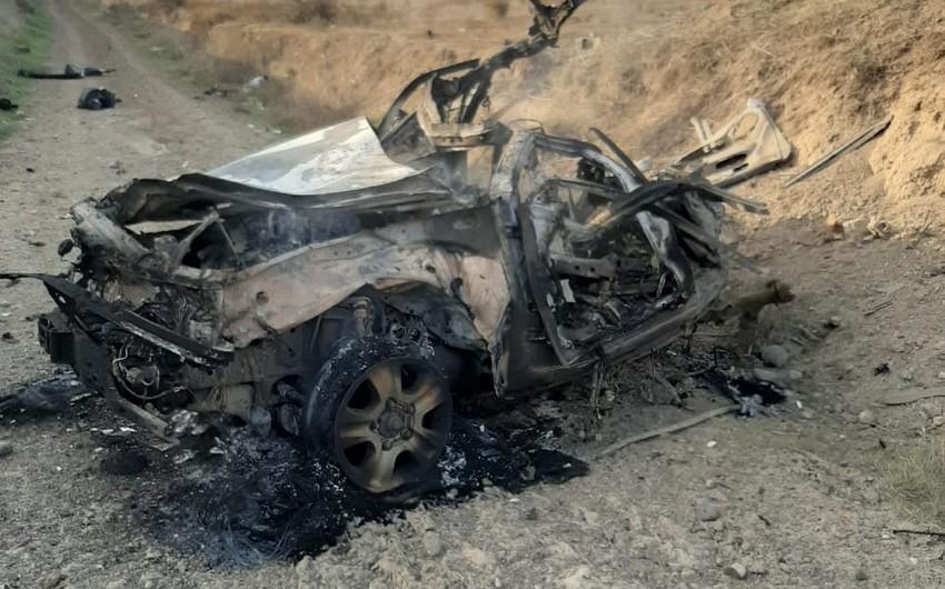 Переданы тела погибших, подорвавшихся на мине в Физули