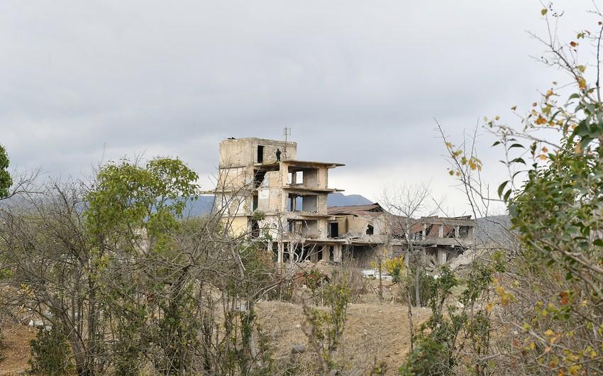 Nazirlik: Ermənilər işğaldan azad olunmuş ərazilərdə kurortları məhv edib