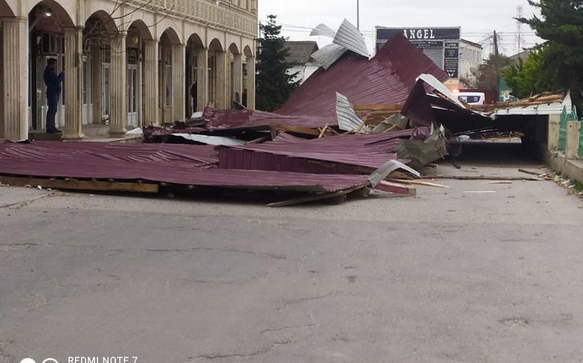 Сильный ветер привел к перебоям в подаче электроэнергии в ряде районов