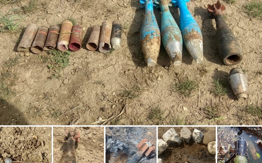 ANAMA Qazax və Ağstafada silah-sursat aşkarladı