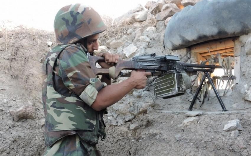 Müdafiə Nazirliyi: Ballıcada yerləşən silah-sursat anbarı məhv edilib