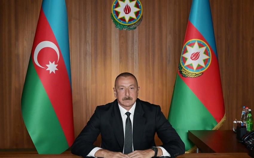 Ильхам Алиев: Молодому поколению в Армении прививается ненависть к народу Азербайджана