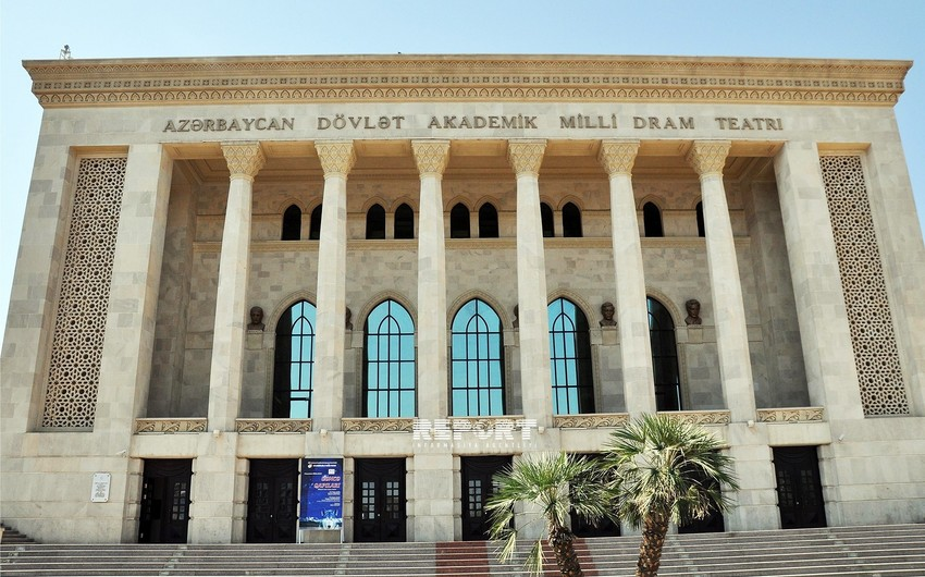 Akademik Milli Dram Teatrı mövsümü başa vurub