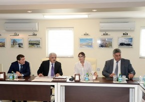 First Lady of Azerbaijan inspects construction progress at Baku Olympic Stadium