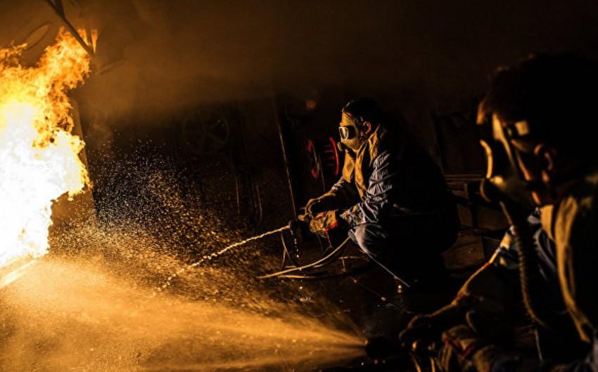 İranda neft emalı zavodunda güclü yanğın olub