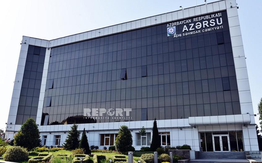 """""""Azərsu""""nun kredit öhdəliyi 19% artıb"""