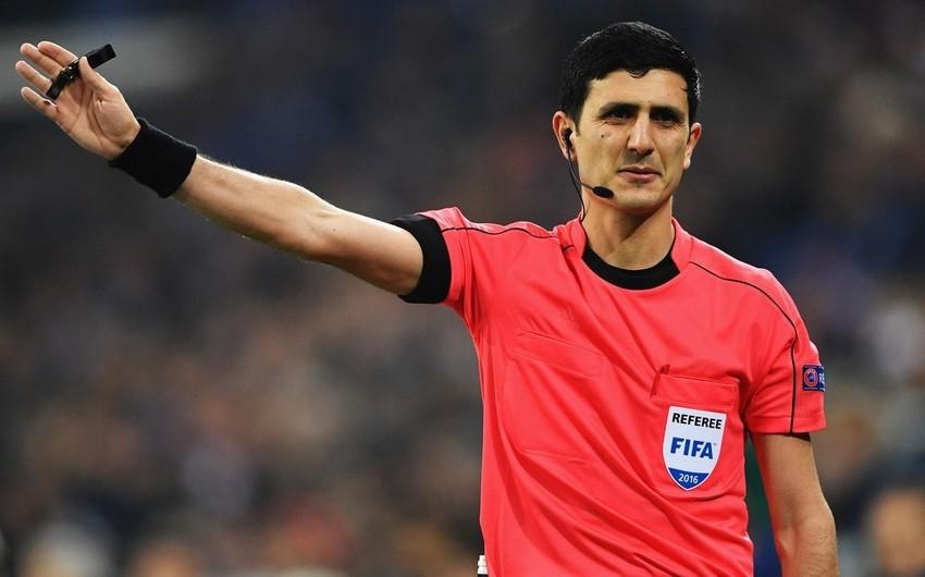 Əliyar Ağayev Avropa Liqasının oyununu idarə edəcək