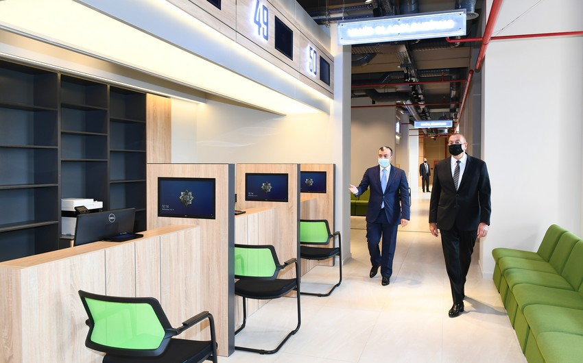 President Ilham Aliyev attends inauguration of DOST center in Absheron