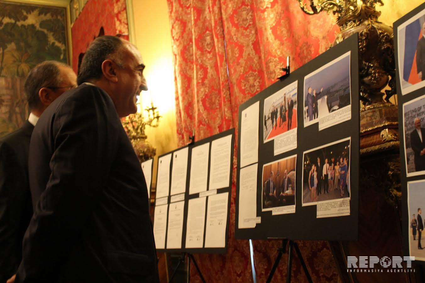 Moscow opens exhibition on 25th anniversary of Azerbaijani-Russian diplomatic relations