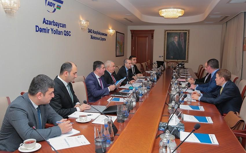 """""""Azərbaycan Dəmir Yolları"""" """"Stadler Rail Group""""la əlaqələri genişləndirir"""