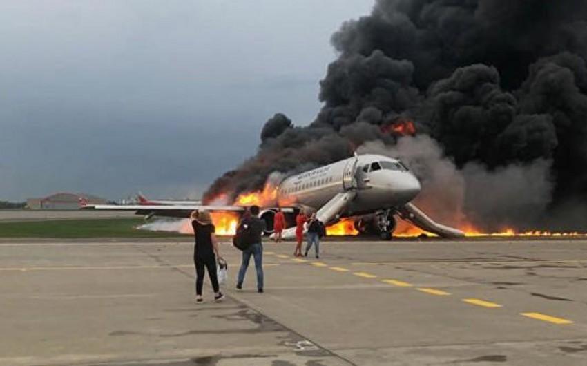 Moskvada təyyarə qəzası nəticəsində 41 ölüb - VİDEO - YENİLƏNİB-2