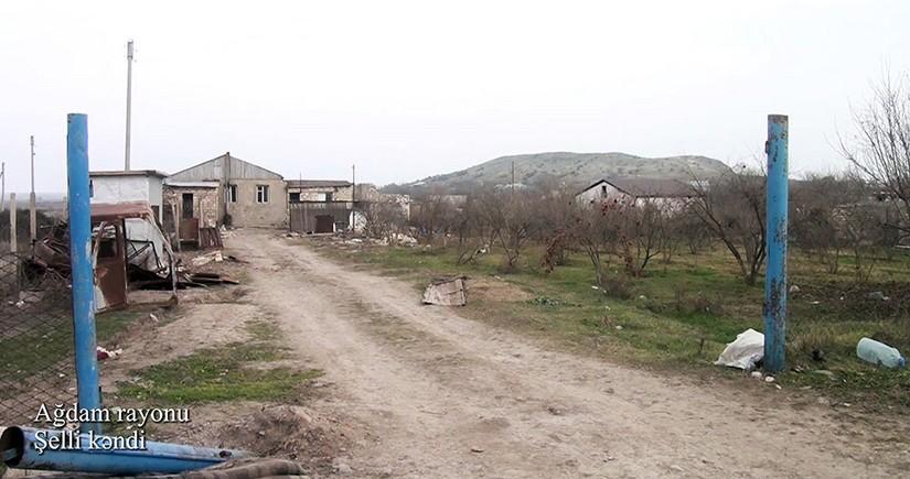 Ağdamın Şelli kəndindən görüntülər