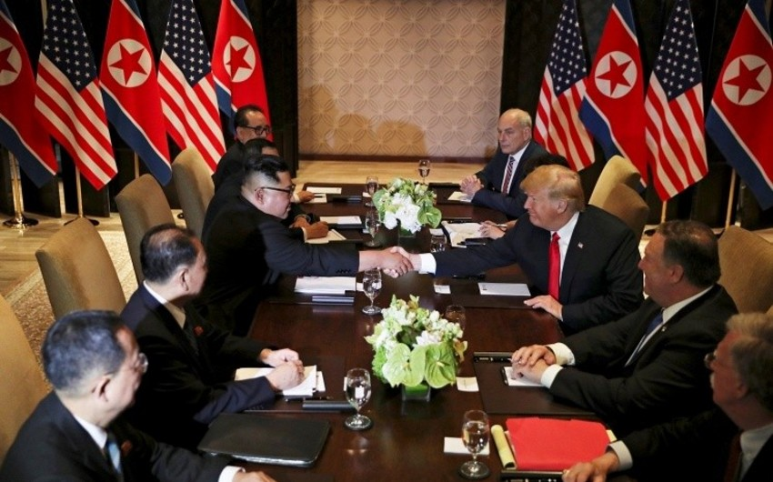 Переговоры лидеров США и КНДР продолжались 1,5 часа - ВИДЕО - ОБНОВЛЕНО - 3
