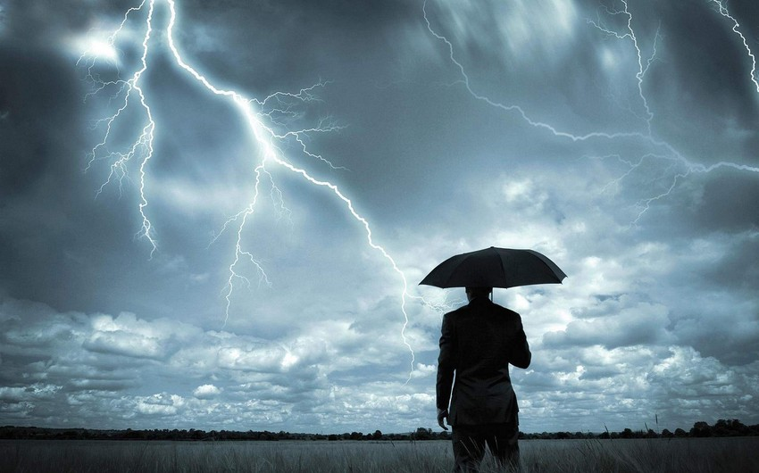 Sabahdan hava şəraiti dəyişəcək, intensiv yağış yağacaq, güclü külək əsəcək - XƏBƏRDARLIQ