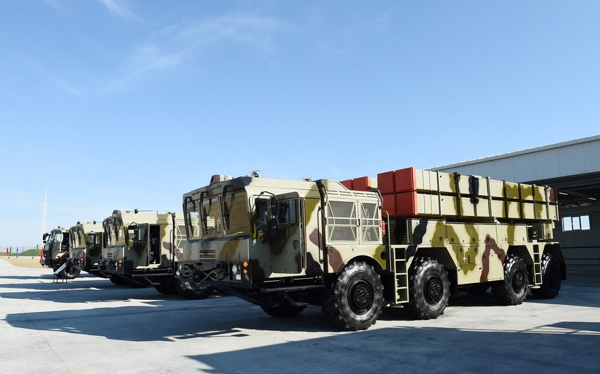 Range of fire of new missile complex of Azerbaijan is 300 km - VIDEO