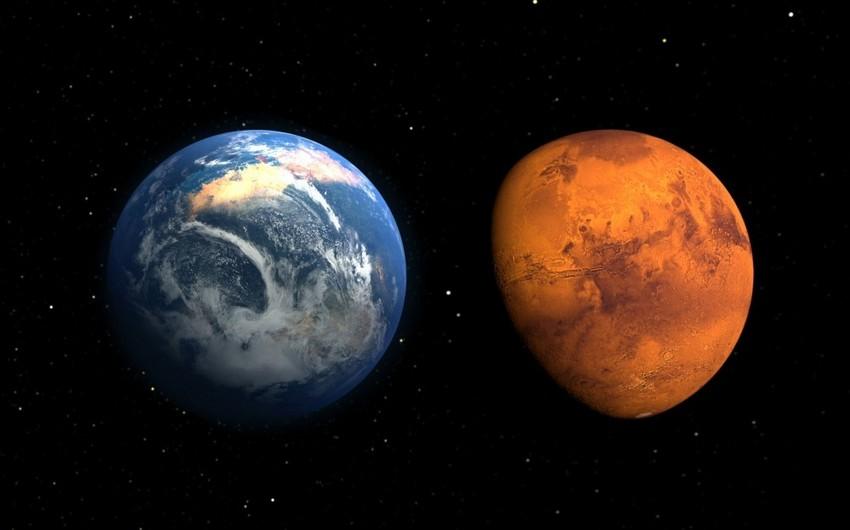 Bu gün Mars-Yer qarşıdurması baş verəcək