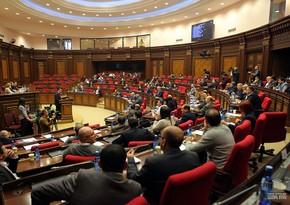 Ermənistan parlamenti Qarabağla bağlı komissiya yaratmaqdan imtina edib