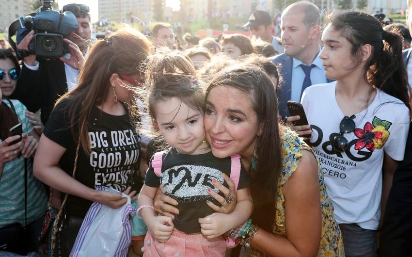 В парке Центра Гейдара Алиева состоялся Детский фестиваль