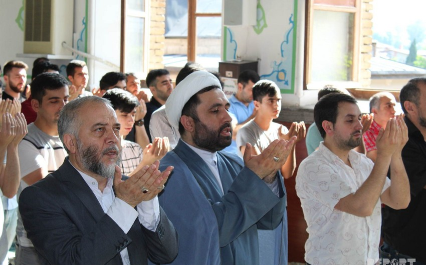 Азербайджанцы Грузии отмечают праздник Рамазан - ФОТО