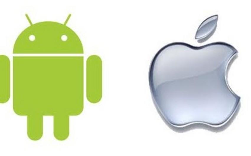 Android və iOS smartfon bazarında liderliyini möhkəmləndirib
