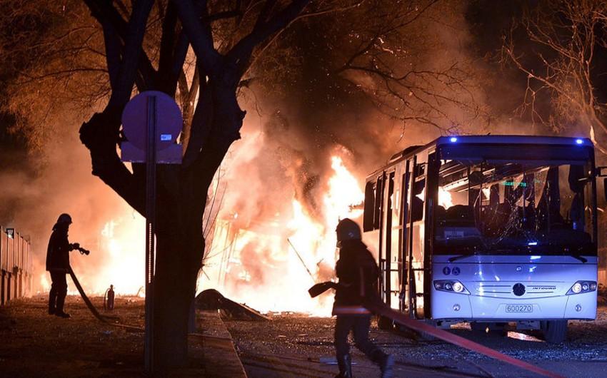 Ankarada partlayış nəticəsində ölənlərin sayı 28 nəfərə çatıb - YENİLƏNİB